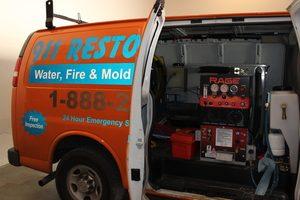 Commercial Restoration Van