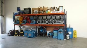 Disaster Equipment Organized