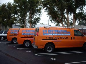 911-Restoration-Vans-Water-damage-remediation-mold-removal